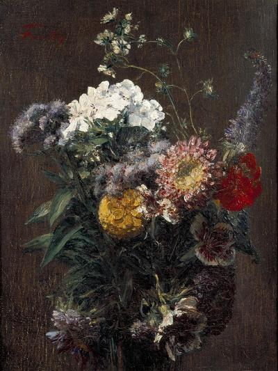 Still Life: Mixed Flowers-Ignace Henri Jean Fantin-Latour-Giclee Print