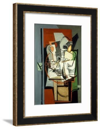 Still Life; Nature Morte, C.1930-Louis Marcoussis-Framed Giclee Print