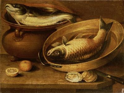 Still Life of Fish and Lemons-Clara Peeters-Giclee Print