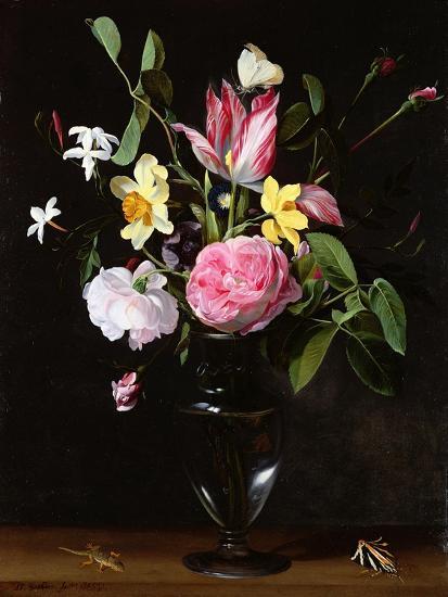 Still Life of Flowers-Daniel Seghers-Giclee Print