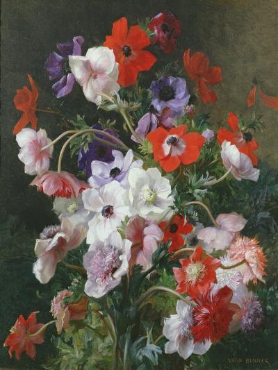 Still Life of Flowers-Jean Benner-Giclee Print