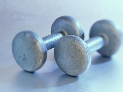 Still Life of Free Weights-Chris Trotman-Photographic Print
