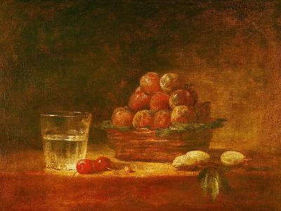 Still Life of Fruit and a Glass, 1759-Jean-Baptiste Simeon Chardin-Giclee Print