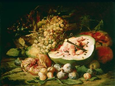 Still Life of Fruit on a Ledge-Frans Snyders-Giclee Print