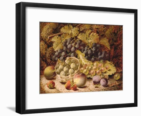 Still Life of Fruit-Oliver Clare-Framed Premium Giclee Print