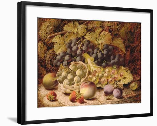 Still Life of Fruit-Oliver Clare-Framed Giclee Print
