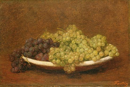 Still Life of Grapes, C.1894-Henri Fantin-Latour-Giclee Print