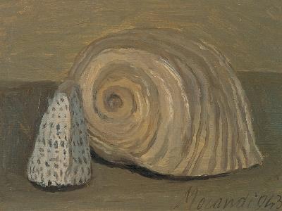 Still Life (Shells)-Morandi Giorgio-Giclee Print