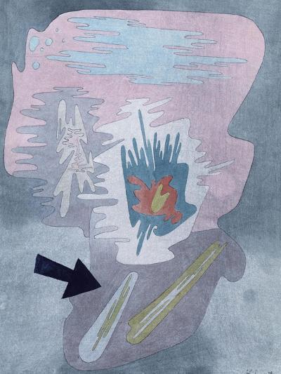 Still Life; Stilleben-Paul Klee-Giclee Print