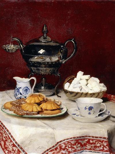 Still Life: Tasteful Tea, 1897-Albert Anker-Giclee Print