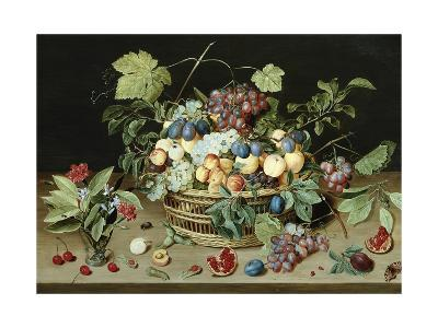 Still Life with a Basket of Fruit-Isaac Soreau-Giclee Print