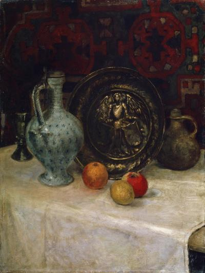 Still Life with a Brass Plate, Late 19th or Early 20th Century-Paula Modersohn-Becker-Giclee Print