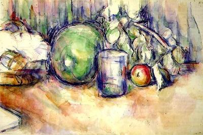 Still Life with a Glass, 1902-06-Paul C?zanne-Giclee Print