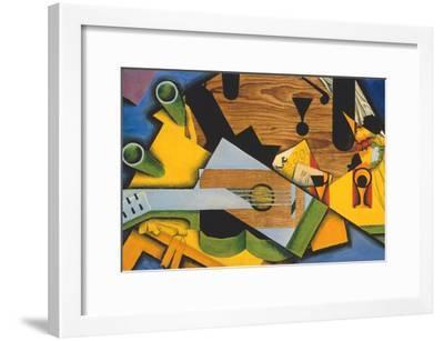 Still Life with a Guitar-Juan Gris-Framed Giclee Print