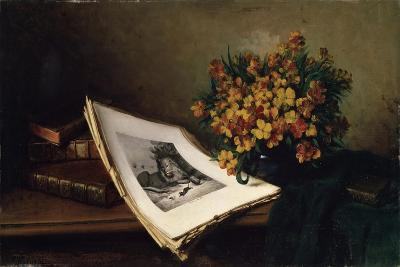Still Life with a Lithograph, 19th Century-Ferdinand, the elder Wagner-Giclee Print