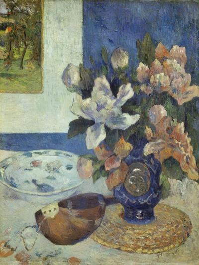Still Life with a Mandolin, 1885-Paul Gauguin-Giclee Print