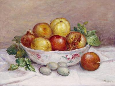Still Life with a Pomegranate-Pierre-Auguste Renoir-Giclee Print