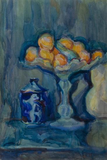 Still Life with a Vase-Vera Vladimirovna Khlebnikova-Giclee Print