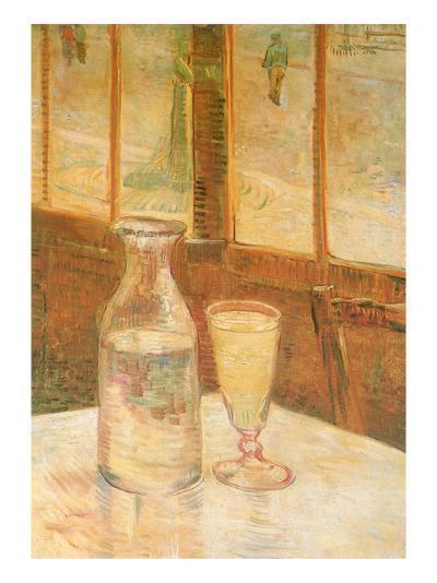 Still Life with Absinthe, 1887-Vincent van Gogh-Giclee Print