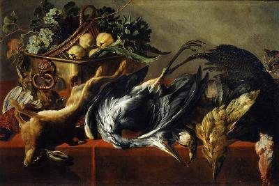 Still Life with an Ebony Chest, 17th Century-Frans Snyders-Giclee Print