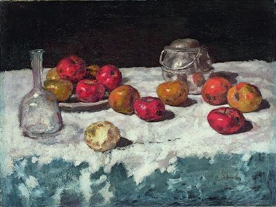 Still Life with Apples, 1889-Carl Schuch-Giclee Print
