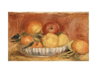 Still-life with Apples and Oranges-Pierre-Auguste Renoir-Giclee Print