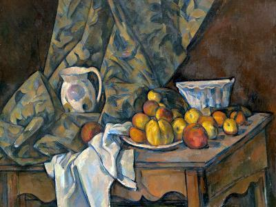 Still Life with Apples and Peaches, c.1905-Paul C?zanne-Giclee Print