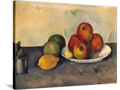 Still Life with Apples, C.1890-Paul C?zanne-Stretched Canvas Print