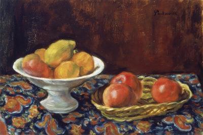 Still Life with Apples, Ca 1923-Jozef Pankiewicz-Giclee Print