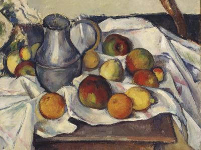 Still Life with Apples; Stilleben Mit Apfeln-Emil Orlik-Giclee Print