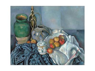 Still Life with Apples-Paul C?zanne-Giclee Print