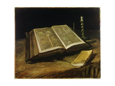 Still Life with Bible, 1885-Vincent van Gogh-Giclee Print