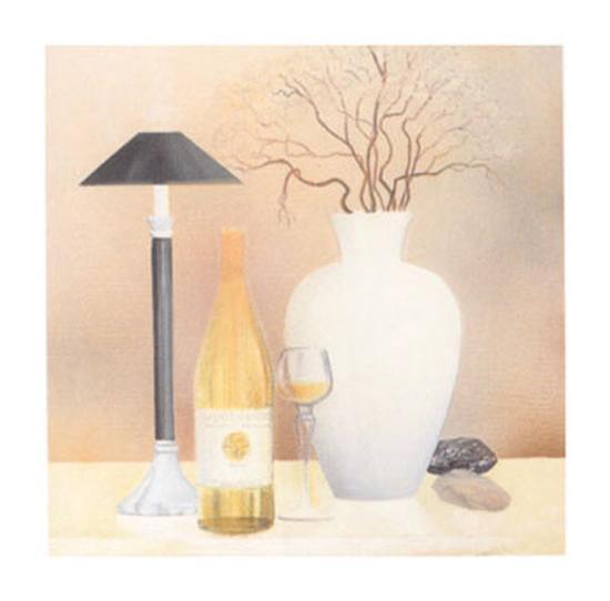 Still Life with Black Lamp-Heinz Hock-Art Print