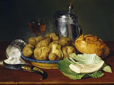 Still Life with Boiled Potatoes, 1836--Giclee Print