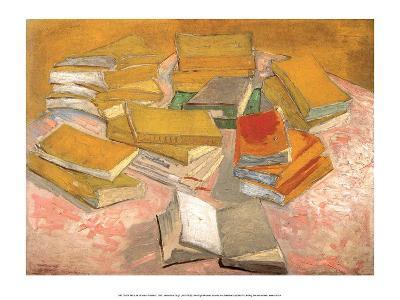 Still Life with Books, 1887-Vincent van Gogh-Art Print