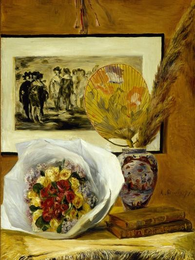 Still Life with Bouquet, 1871-Pierre-Auguste Renoir-Giclee Print