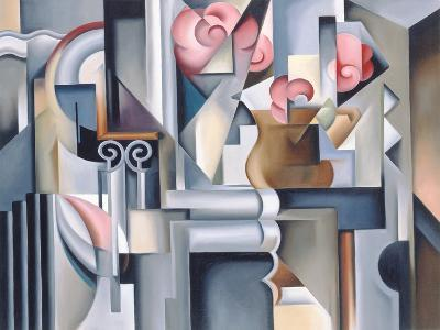 Still Life with Brown Jug-Catherine Abel-Giclee Print