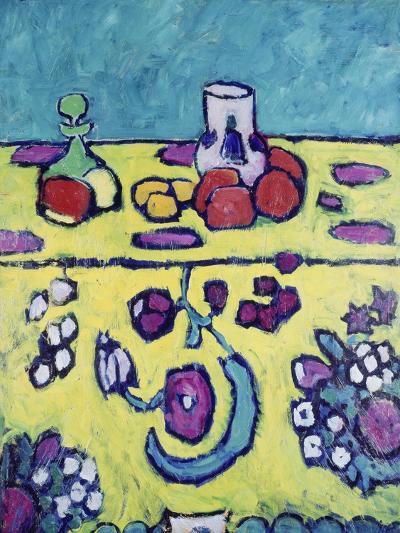 Still-Life with Colourful Cloth, 1910-Alexej Von Jawlensky-Giclee Print