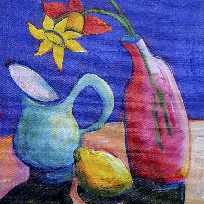 Still Life with Daffodil-Sara Catena-Giclee Print