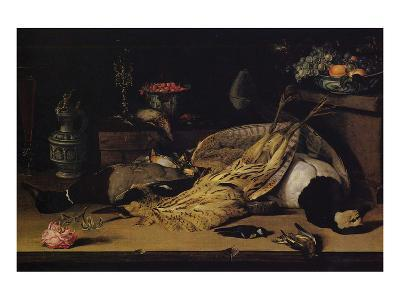 Still Life with Dead Birds-Christoffel van den Berghe-Premium Giclee Print