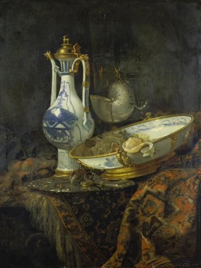 Still Life with Delft Vase and Bowl-Willem Kalf-Giclee Print