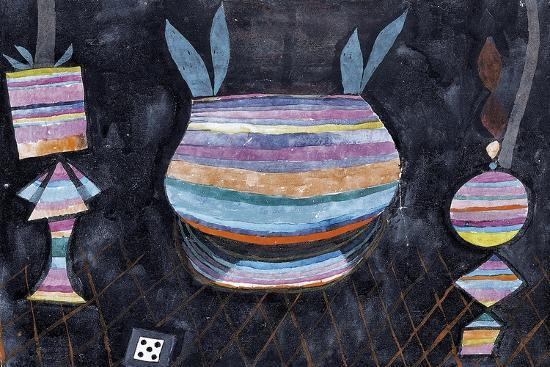 Still Life with Dice-Paul Klee-Giclee Print