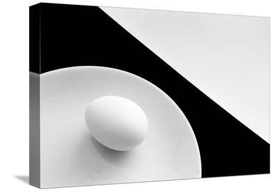 Still Life With Egg-Peter Hrabinsky-Stretched Canvas Print