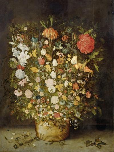 Still Life with Flowers, 1600-30-Jan Brueghel-Giclee Print