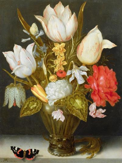Still Life with Flowers, 1607-Ambrosius The Elder Bosschaert-Giclee Print