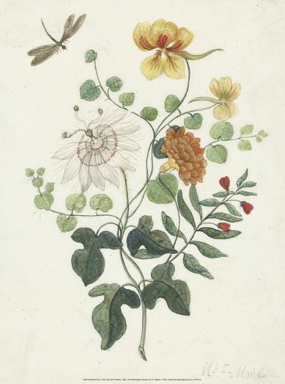 Still Life with Flowers, 1662-Machtelt Moninckx-Art Print