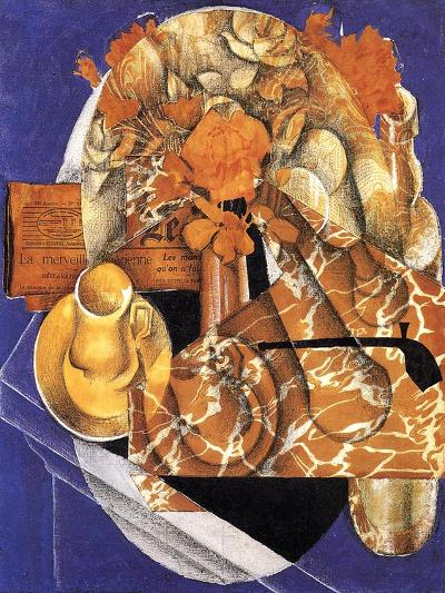 Still Life with Flowers, 1914-Juan Gris-Giclee Print
