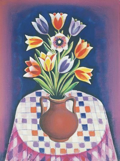 Still Life with Flowers, 1967-Radi Nedelchev-Giclee Print