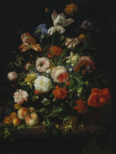 Still Life with Flowers and Fruit, 1707-Rachel Ruysch-Giclee Print