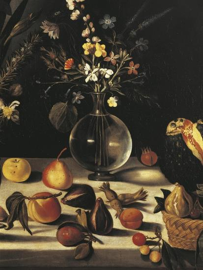 Still Life with Flowers and Fruit-Caravaggio-Giclee Print